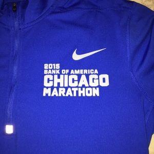 designer fashion a10b7 71fce Nike Shirts - Nike  2015 Chicago Marathon running long sleeve